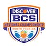 BCS National Championship Logo 2013