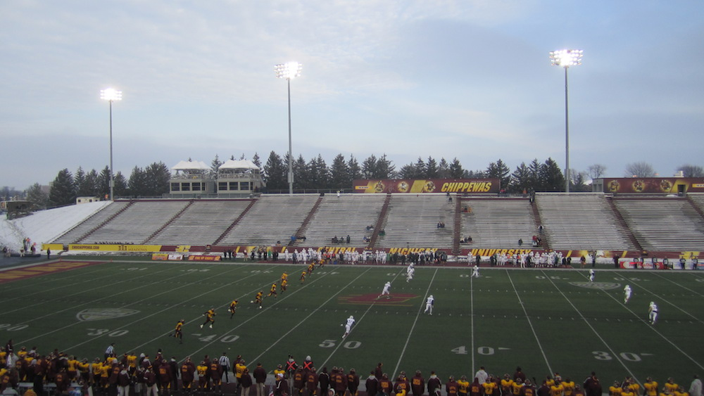 Central Michigan Vs Eastern Michigan Chips Ground The